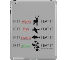 King of the Food Chain iPad Case/Skin