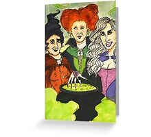 It's Just a Bunch of Hocus Pocus! Greeting Card