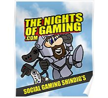 The nights of gaming classic Poster