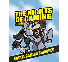 The nights of gaming classic Photographic Print