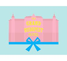 The Grand Budapest Hotel-minimal Photographic Print
