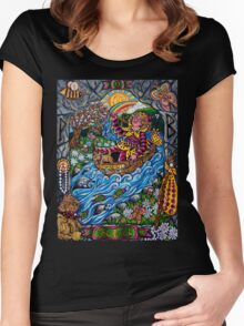 The Fool Women's Fitted Scoop T-Shirt