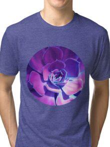 MOONLIGHT SUCCULENT Tri-blend T-Shirt