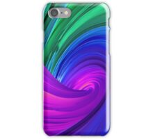 Twisting Forms #4 iPhone Case/Skin