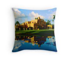 Curtiss Mansion Throw Pillow