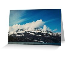 Alaska Mountain Greeting Card