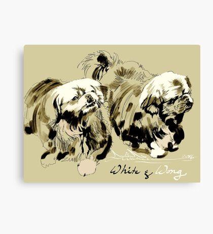 White & Wong Canvas Print