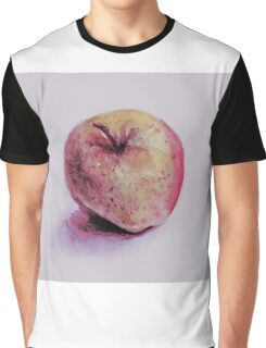 Colorful watercolor of apple Graphic T-Shirt