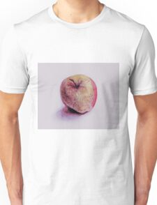Colorful watercolor of apple Unisex T-Shirt