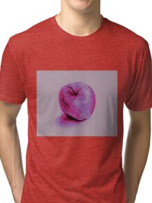 Colorful watercolor of apple Tri-blend T-Shirt