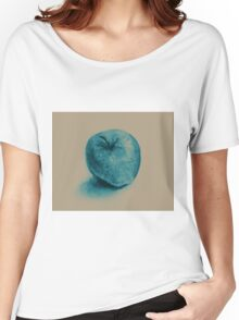 Colorful watercolor of apple Women's Relaxed Fit T-Shirt