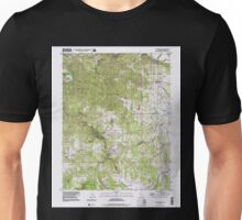USGS TOPO Map California CA Camp Meeker 100488 1995 24000 geo Unisex T-Shirt