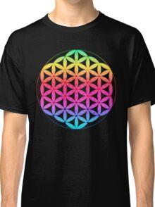 Flower of Life rainbow Classic T-Shirt