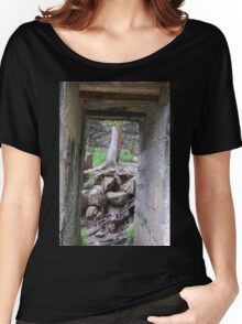 Growing from the Rubble. Women's Relaxed Fit T-Shirt