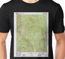 USGS TOPO Map California CA Camp Nelson 100487 1987 24000 geo Unisex T-Shirt