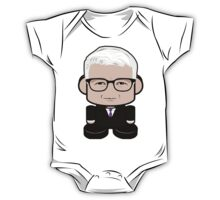 Anderson Cooper Politico'bot Toy Robot 2.0 One Piece - Short Sleeve