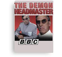 Demon Headmaster 90s BBC Canvas Print