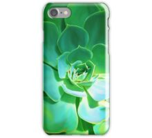 GREEN PLANT SUCCULENT iPhone Case/Skin