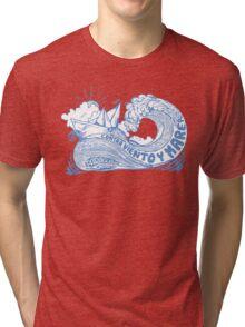 Contra viento y marea Tri-blend T-Shirt