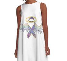 Angel Ribbon for change A-Line Dress