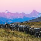 Evening mountains and meadows by Linda Sparks