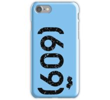 Area Code 609 New Jersey iPhone Case/Skin