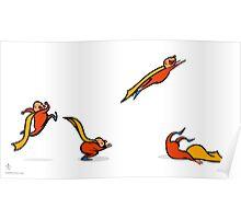 Superkid sequential art Poster