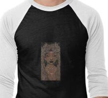 Goddess Men's Baseball ¾ T-Shirt