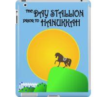 The Day Stallion Prior to Hanukkah iPad Case/Skin