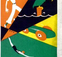 Vintage Daytona Beach Florida Travel Sticker
