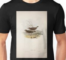 John Gould The Birds of Europe 1837 V1 V5 136 Meadow Pipit Unisex T-Shirt
