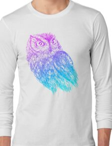 Western Screech Owl Long Sleeve T-Shirt