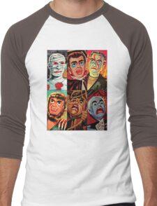 Lincoln International Monsters Men's Baseball ¾ T-Shirt