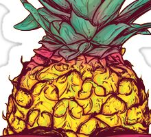 Skeleton Pineapple Sticker