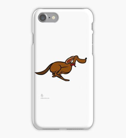 Dog Run sequential art iPhone Case/Skin