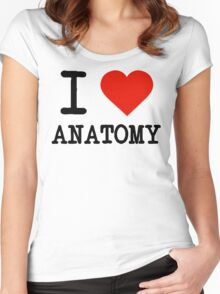 I Love Anatomy Women's Fitted Scoop T-Shirt