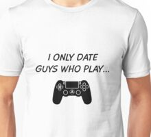 Date PlayStation Guys Unisex T-Shirt