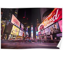 An Evening in Times Square Poster