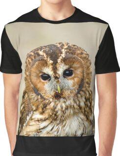 Tawny Owl head shot Graphic T-Shirt
