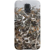 scrap metal Samsung Galaxy Case/Skin