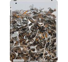 scrap metal iPad Case/Skin