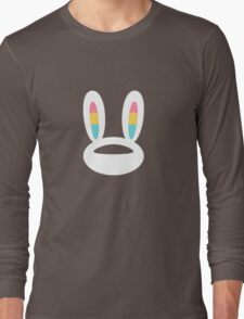 Pogo Space Bunny White Long Sleeve T-Shirt