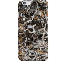 scrap metal iPhone Case/Skin