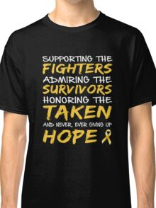 Childhood Cancer Awareness Classic T-Shirt