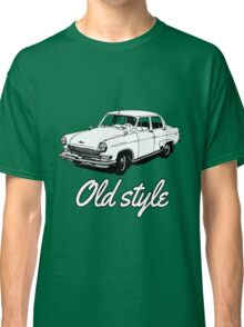 old car retro vintage old timer old school Classic T-Shirt