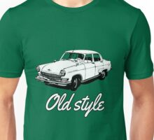 old car retro vintage old timer old school Unisex T-Shirt