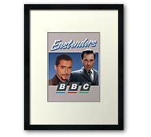 Eastenders BBC 90s Framed Print