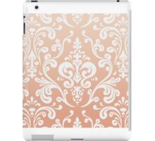 Coral Ombre Damask iPad Case/Skin