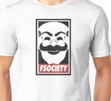 FSOCIETY - MR ROBOT - ELLIOT ALDERSON Unisex T-Shirt