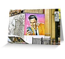"""We Have an Elvis Sighting""... prints and products Greeting Card"